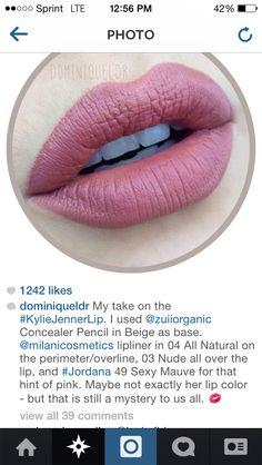 Kylie Jenner lip