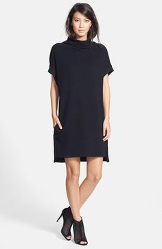 James Perse Funnel Neck Tunic Dress available at #Nordstrom