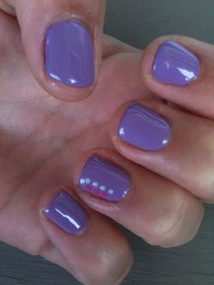 Oh La Lilac  by Keely at Glossed.