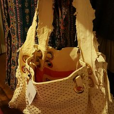 Gorgeous cream leather bag made in Italy Very soft cream Leather bag with gold embellishments. Bags Shoulder Bags