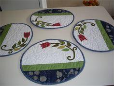 Americanos - Redondo em patchwork   Fatimas Patch   Elo7