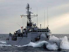 Le patrouilleur français de haute mer Commandant Bouan est déjà au large des côtes libyennes dans le cadre de l'opération Sophia./Marine Nle