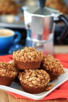 pumpkin spice muffins from eat live run