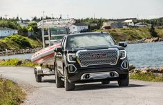 Plenty of new technology, more room and better fuel economy, but the real story is what's in the back Gmc Sierra Denali, Gmc Denali, Yukon Denali, Gmc Pickup Trucks, New Trucks, Chevrolet Tahoe, Chevrolet Silverado, Gmc Vans, Black Truck