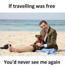 You would never see me again. Travel Puns, Travel Humor, Funny Travel, Funny Attitude Quotes, Funny Quotes, Funny Memes, Hilarious, Stress Free Quotes, Airline Humor