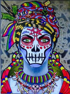 Voodoo Woman done by Janice Maybee