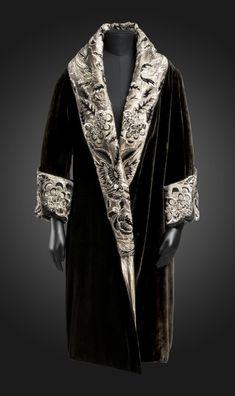 Anart evening coat ca. 1923-28 From the Philadelphia Museum of Art