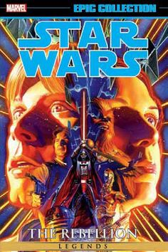 Star Wars Legends Epic Collection: The Rebellion Vol. 1, by John Wagner and Paul Alden (released Jul 12, 2016). When Death Star falls, what will happen next for the galaxy? Stinging from defeat, Darth Vader is consumed with tracking down the Force-strong young pilot who destroyed his battle station. What would it mean for the Empire if Vader and the evil Emperor Palpatine discover Luke Skywalker's identity?