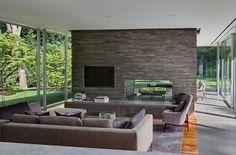 rectangular glass house interior design inspiration