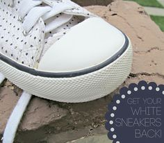 how to keep a white leade shoe clean