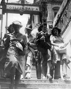 Subte A, Buenos Aires c.1940 Documento Fotográfico. Inventario 6866