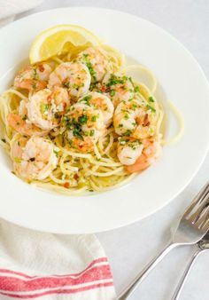 #Recipe: Roasted Shrimp Scampi