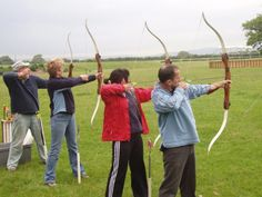 Another fabulous photo! This time its our marvellous members indulging in one of the oldest sports know to the human race #spiceuk #archery