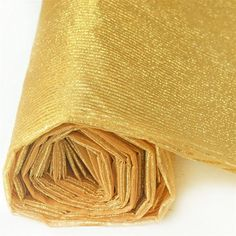 x 10 Yards Gold Razzle-Dazzle Glitter Pinstripe Organza Fabric Bolt Gold Napkins, Gold Wedding Decorations, Gold Wedding Theme, Gold Table Runners, Putting On The Ritz, Gold Chargers, Chair Sashes, Flower Stands