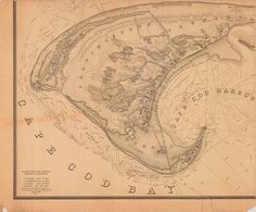 Cape Cod Bay and Provincetown 1836 by HyannisMarina on Etsy