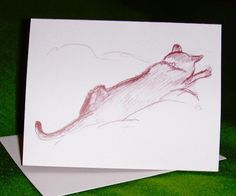 SALE 6 Kitty Blank Note Cards by allthingsbarbara on Etsy