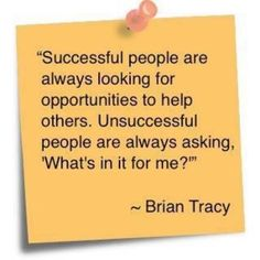 Successful People...