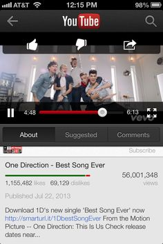 ATTENTION ALL DIRECTIONERS!!!!! Right now, BSE is at 56,001,348 views. I've been keeping track, and we've only been getting about 1 million views a day. That means we're not gonna break the record! :,( So if we want to do this for our boys, we have to go on crazy watching mode again. PLEASE DO IT FOR THE BOYS THAT CHANGED OUR LIVES!!!!