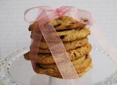"""Passion 4 baking """" Jumbo 3-Chip Cookies from Nestle Toll House (these cookies are called 3-chip because they are full of dark chocolate chips, milk chocolate chips & white chocolate chips)."""