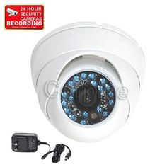 Discounted VideoSecu Day Night Vision Security Camera Infrared CCTV Home Color CCD Outdoor Vandal Proof Wide View Angle Lens Surveillance Camera with Free Power Supply CEP Video Security, Security Tips, Security Service, Security Solutions, Best Home Security, Security Cameras For Home, Security Surveillance, Surveillance System, Security Alarm