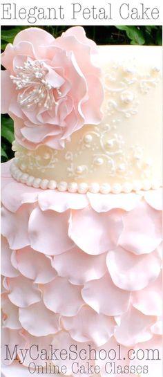 Wedding Cake Decorating   #WeddingCakeDecorating