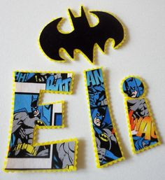 Bat Name and Symbol DIY Iron Ons by alphabulous on Etsy, $12.00
