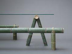 stefan diez reinterprets the traditional bamboo bench for japan creative - SOBA Bock und Bank f Bamboo Furniture, Furniture Ads, Furniture Design, Luxury Furniture, Street Furniture, Furniture Makers, Asian Furniture, Furniture Outlet, Discount Furniture