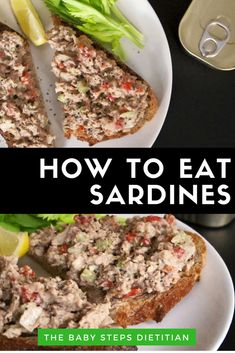 Sardines are a good low-mercury fish for pregnant woman, but how do you eat them. Sardines are a good low-mercury fish for pregnant woman, but how do you eat them? This recipe for S Fish Dishes, Seafood Dishes, Seafood Recipes, Healthy Food List, Healthy Eating, Healthy Recipes, Healthy Meals, Keto Recipes, Clean Eating