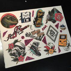 Pin de gabs aveiro en pegatinas олдскул татуировки, эскиз тату y тату. Tattoo Sketches, Tattoo Drawings, Ak47 Tattoo, Dibujos Pin Up, Flash Tats, Tattoo Flash Sheet, Tatuagem Old School, Sailor Jerry, Gambling Quotes