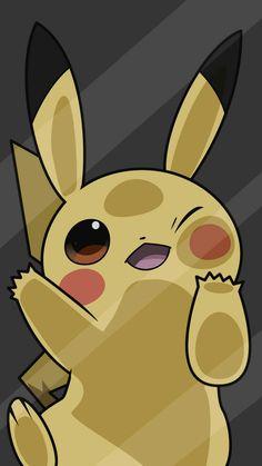 Pikachu coincé dans une vitre, pokémon