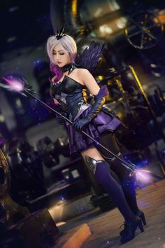 Dark Lux From League Of Legends