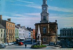 Postcard of Coleraine circa 1960s which I  found at my Gt Uncle's farm. #Coleraine pic.twitter.com/haaHDkKCLQ