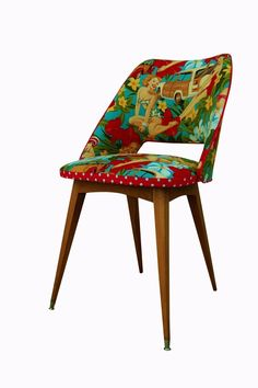 Chaise rétro Miss Gladys Pearl Baker.