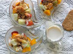 Energético de Fruta con Crema de Vainilla - Que Rica Vida #quericavida