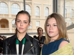 paulineducruet:  Louis Vuitton Cruise Line Show 2015-Members of Monaco's Royal Family Attended, May 17, 2014-Pauline Ducruet and half-sister Camille Gottlieb, daughters of Princess Stephanie