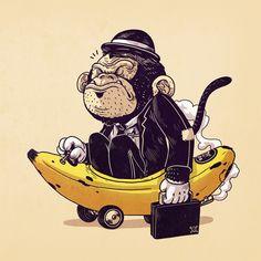 Monkeying Around - Alex Solis