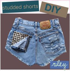 """""""studded shorts diy"""" by the-polyvore-tippersx ❤ liked on Polyvore"""