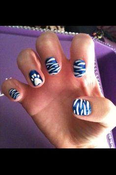 UK Wildcat nails!