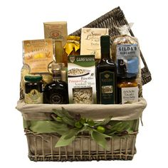 Now That's Italian Gift Basket  //  SavoryPantry.com