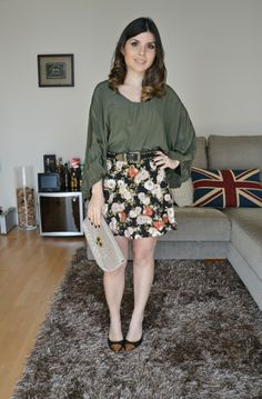 Look Blog Dark Floral Mango Bo.Bo