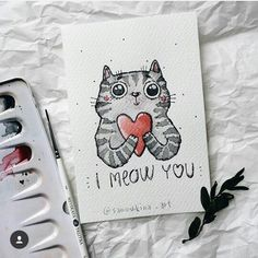 I really meow you♥️ 🐾speed painting video in previous post🐾