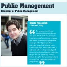 What can you do with a public management degree?