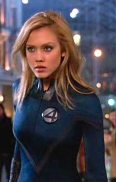 Jessica Alba Fantastic Four Sue Storm Wide High