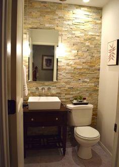 Powder Room A DIY Half Bath Transformation for $1,000
