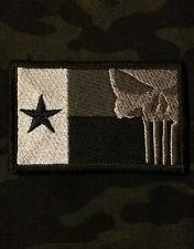 Chris Kyle Seal Team 3 | Chris Kyle Punisher Subdued TEXAS FLAG Patch, NAVY SEALS, Team 3