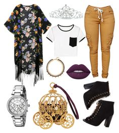 Untitled #129 by toyapowell on Polyvore featuring polyvore, Invicta, Joomi Lim, Kate Marie, Lime Crime, fashion, style and clothing