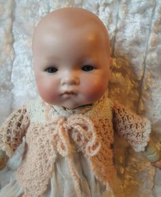 ANTIQUE VINTAGE GERMAN BISQUE DREAM BABY AM 241 MARSEILLE DOLL #ANTIQUEGERMANBISQUEBABYDOLL