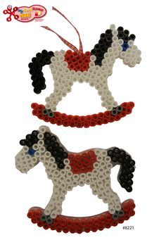 Image result for perler bead horse