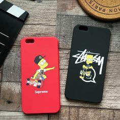 iPhone7 plus ケース シュプリーム キャラクター