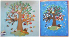 """Résultat de recherche d'images pour """"bricolage arbre maternelle"""""""